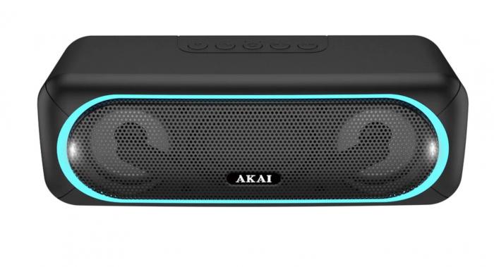Boxa portabila Akai ABTS-141, Bluetooth, USB, micro SD, Aux, functie True Wireless [0]
