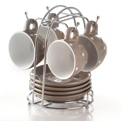 Set Cafea 4 piese Taupe 0