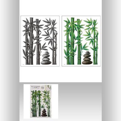 Sticker bambus 38X50 0