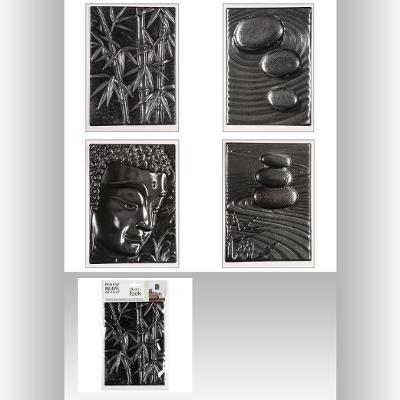 120725  Sticker relief Zen 18*24 0