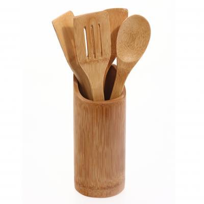 540744112  Set 4 ustensile bucatarie suport bambus [0]