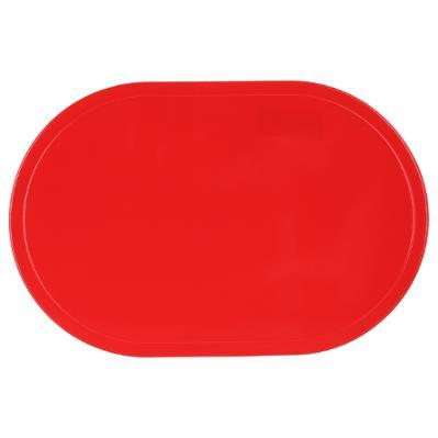 Suport farfurii Oval rosu 0