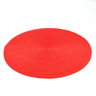 108120E  Suport pentru farfurii rotund rosu 0