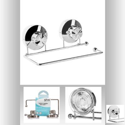 Suport hartie igienica cu ventuza 3