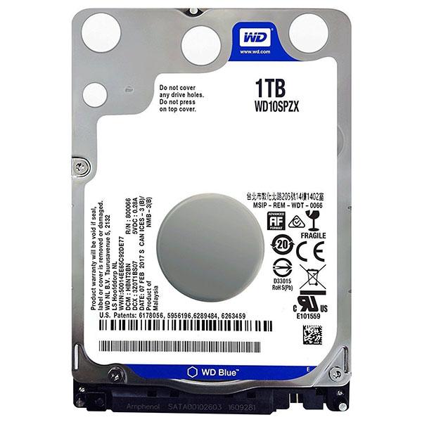 WD HDD2.5 1TB SATA WD10SPZX 0