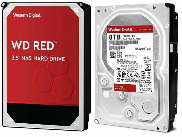 WD HDD3.5 8TB SATA WD80EFAX 0