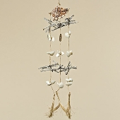 3674500  Wind Chime shell L80cm 0