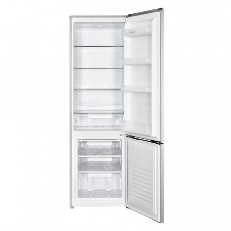 Combina frigorifica Albatros CFX34, 269 litri, clasa F, inaltime 176 cm, termostat reglabil, argintie [1]