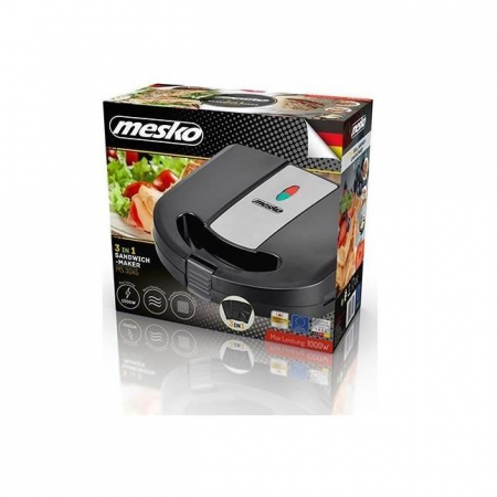 MS3045, Sandwich maker Mesko, 3 in 1 [2]