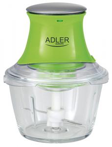 AD4056 Tocator legume, capacitate bol 1 L., Putere 300W, 2 cutit, functie tocat gheata0