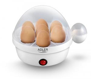 AD4459 Fierbator oua Adler ,450W, 7 compartimente,alb0