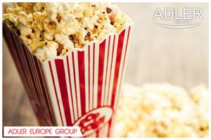 AD4479 Aparat pentru popcorn Adler, 1200 W, Fara ulei2