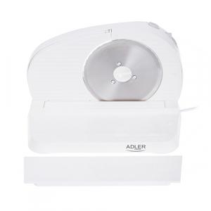 AD4701 Feliator Adler, putere 200W, cutit otel inoxidabil, indicator grosime, alb0