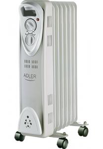 Calorifer electric Adler AD 7807, termostat, 7 elemente, 1500W0