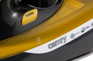 CR5029 Fier de Calcat cu Aburi Camry, Talpa Ceramica, Putere 3000W, Functie Auto-Curatare si Anti-Picurare, Calcare Verticala7