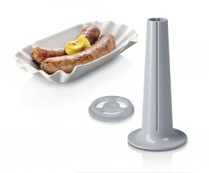 MFW67450 Masina de tocat carne Bosch, 2000 W, 3.5 kg/min, Accesoriu suc rosii, 3 site, palnie carnati si kebbe, Negru/Gri3