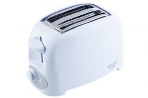 Prajitor de paine ADLER AD 3201, 750 W, 2 felii, Grad de rumenire variabil, Alb2