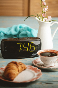 Radio cu ceas si alarma ADLER AD 1121,negru3