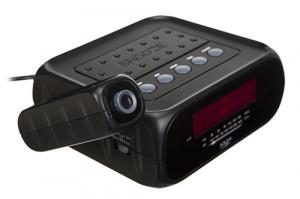 Radio cu ceas si alarma , proiectie laser ADLER AD 1120 ,negru1