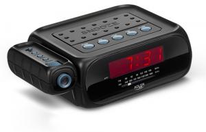 Radio cu ceas si alarma , proiectie laser ADLER AD 1120 ,negru0