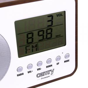 Radio digital Camry CR 1153 , ceas, termometru, alarma, lcd, calendar2