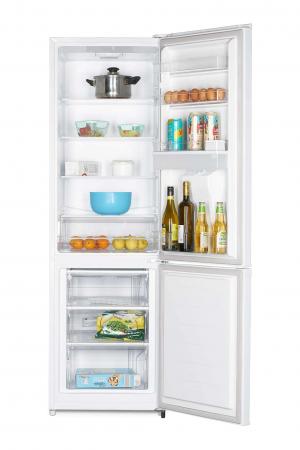 Combina frigorifica Heinner HC-N262WD+, 262 l, Dozator de apa, Clasa A+, H 180 cm, Alb [2]