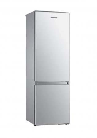 Combina frigorifica Heinner HC-H273SF+, 264 l, Clasa F, Iluminare LED, Control mecanic, Termostat ajustabil, H 176 cm, Argintiu [0]