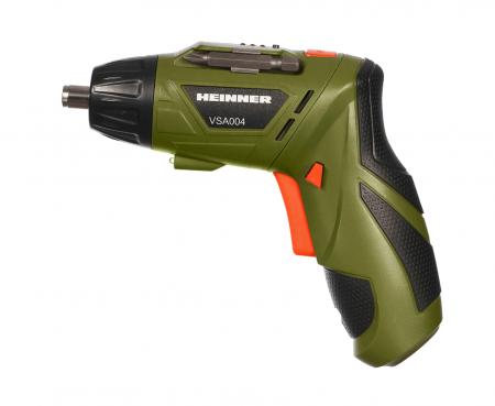 HEINNER VSA004 - Surubelnita pe acumulator, 1300 mAh, 210 RPM, 3 Nm, maner pliabil [1]