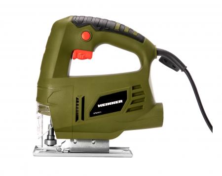 HEINNER UFEV011 - Fierastrau vertical, 550 W, 3000 RPM, 65 mm adancime taiere in lemn, 6 mm adancime taiere otel [0]