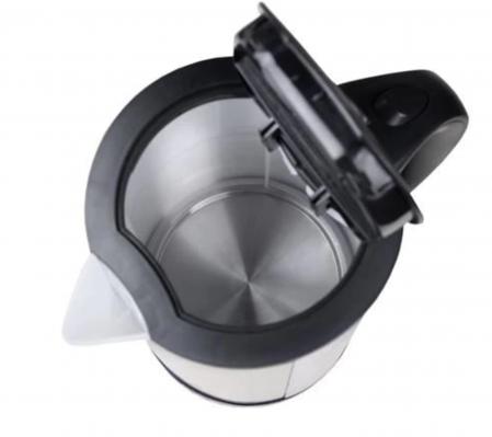 Fierbator apa, capac. 1,7L., 2000W, indicator nivel apa, filtru anticalcar, Inox [3]