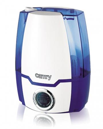 CR7952, Umidificator de aer cu ultrasunete Camry, 5.2 l, Ionizare, Timer, 25m2, 17 h, Alb-albastru [2]