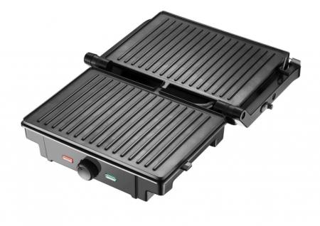 Gratar electric Samus GTS-1500X, Putere 1500 W, Negru/Inox [2]