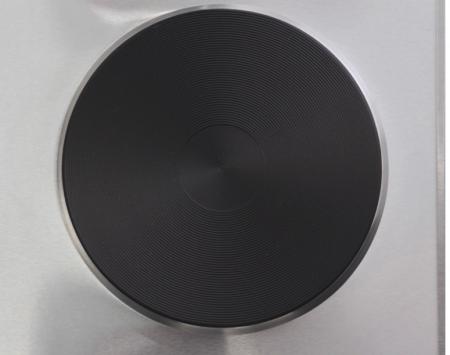 Plita electrica Samus PX102, 2 arzatoare, Control mecanic, Putere 2500 W, Inox [3]