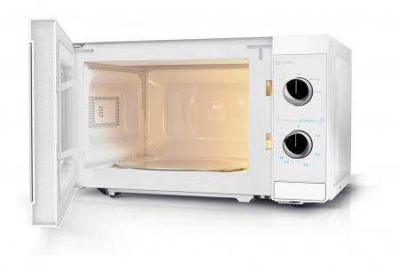 Cuptor cu microunde Sharp YC-MS01E-C, 800 W, 20 L [1]