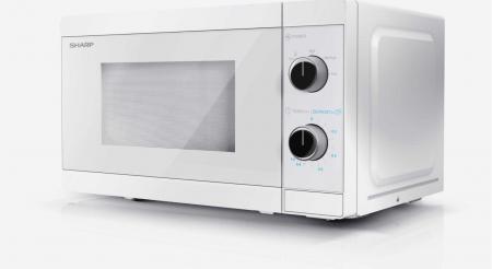 Cuptor cu microunde Sharp YC-MS01E-C, 800 W, 20 L [3]