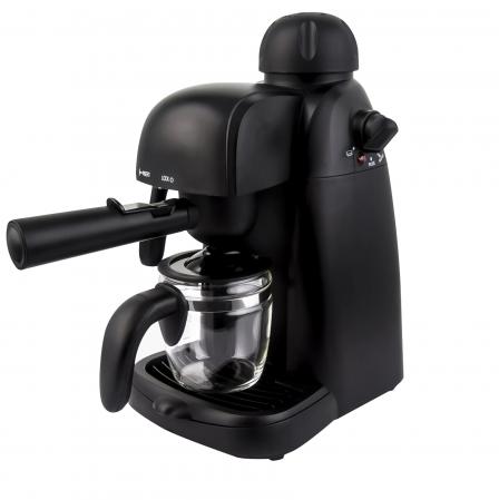 Espressor manual Heinner HEM-150BK, 3.5 bari, 240 ml, Negru [0]