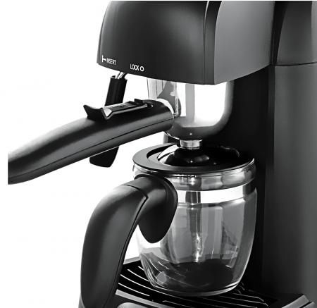 Espressor manual Heinner HEM-150BK, 3.5 bari, 240 ml, Negru [2]