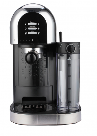 Espressor manual Heinner Coffee Dreamer HEM-DL1470BK, 1230-1470W, 20bar, , dispozitiv spumare lapte, rezervor detasabil lapte 500ml, rezervor apa 1.7L, 6 tipuri de bauturi, Negru [0]