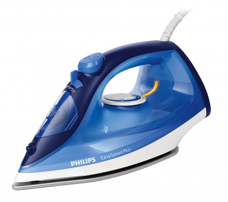 Fier de calcat Philips EasySpeed Plus GC2145/20, Talpa Ceramica, abur 110 g, Albastru [0]