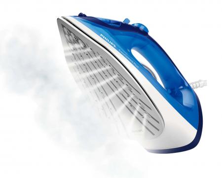 Fier de calcat Philips EasySpeed Plus GC2145/20, Talpa Ceramica, abur 110 g, Albastru [2]