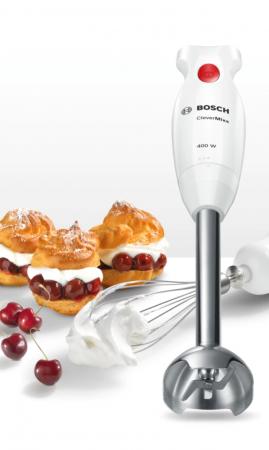 Mixer vertical Bosch MSM24500, 400W, minitocator, picior pasator inox, tel [4]