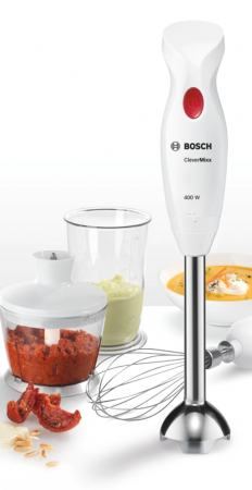 Mixer vertical Bosch MSM24500, 400W, minitocator, picior pasator inox, tel [5]