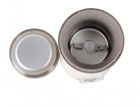 Rasnita de cafea Heinner HCG-150P, 150W, 50 g, Alb [3]