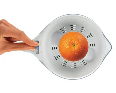 Storcator de citrice Philips HR2744/40, 25 W, 0.6 l, 1 Viteza, Ajustare cantitate pulpa, Alb [3]