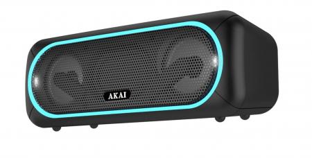 Boxa portabila Akai ABTS-141, Bluetooth, USB, micro SD, Aux, functie True Wireless [1]