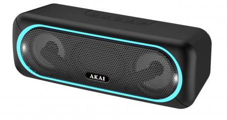 Boxa portabila Akai ABTS-141, Bluetooth, USB, micro SD, Aux, functie True Wireless [2]