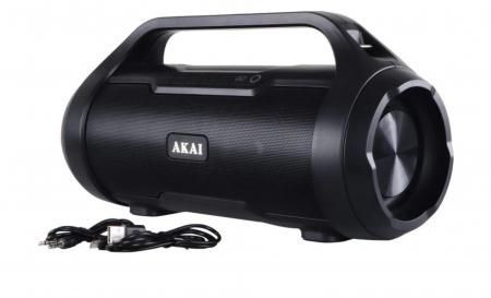 Boxa Portabila, Bluetooth, rezistenta la apa AKAI ABTS-50 , Radio FM , USB ,SD card [1]