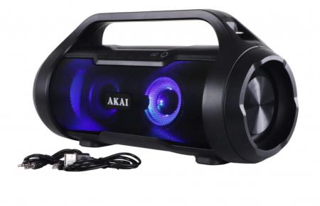 Boxa Portabila, Bluetooth, rezistenta la apa AKAI ABTS-50 , Radio FM , USB ,SD card [2]