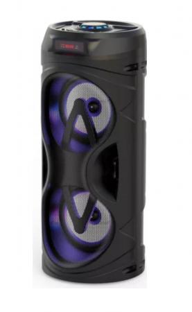 Boxa portabila activa Akai ABTS-530 Bluetooth USB 5W micro SD card slot intrare microfon lumini difuzor Negru ABTS-530 [0]