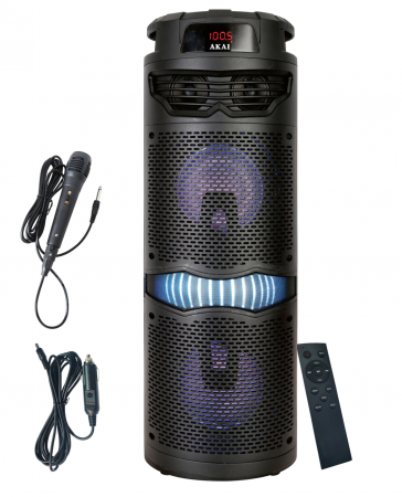 Boxa portabila activa, AKAI ABTS-636, Bluetooth 5.0, 40W, Radio FM [0]